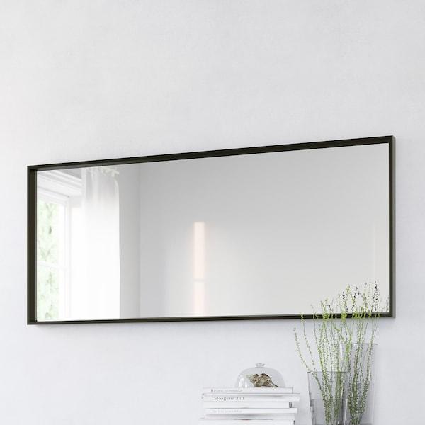 NISSEDAL Spejl, sort, 65x150 cm