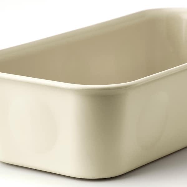 NOJIG Opbevaring, plast/beige, 10x20x5 cm