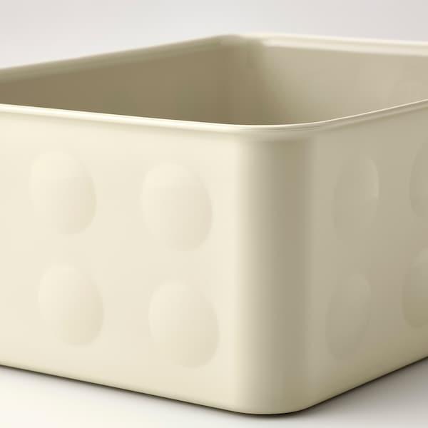NOJIG Opbevaring, plast/beige, 20x25x10 cm