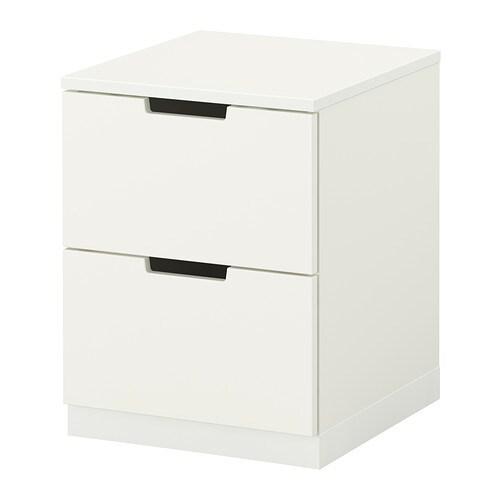 nordli kommode 2 skuffer ikea. Black Bedroom Furniture Sets. Home Design Ideas
