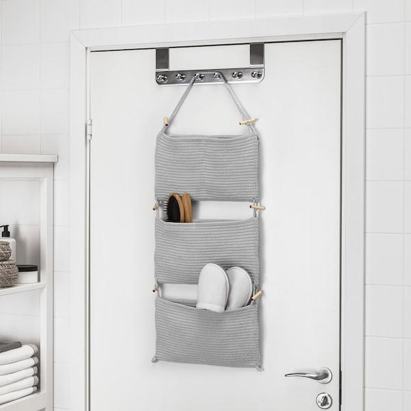 NORDRANA Hængeopbevaring, grå, 35x90 cm