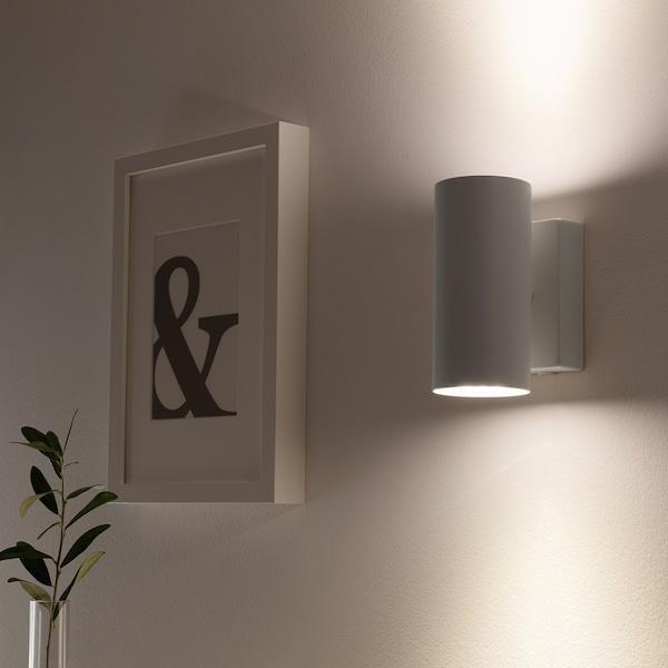 NYMÅNE Up-/downlight væg fast inst, hvid
