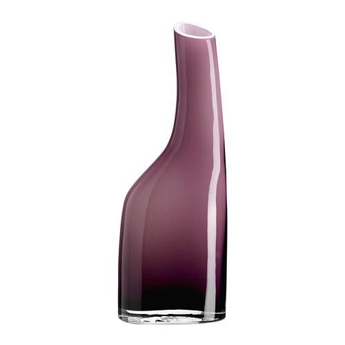 OCKSÅ Vase , lilla Højde: 29 cm