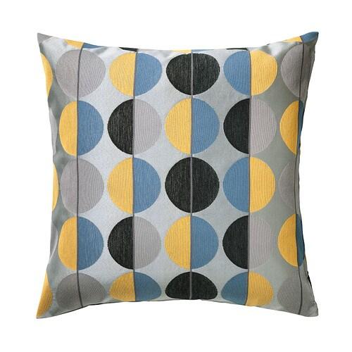 OTTIL Pudebetræk , grå, multifarvet Længde: 50 cm Bredde: 50 cm
