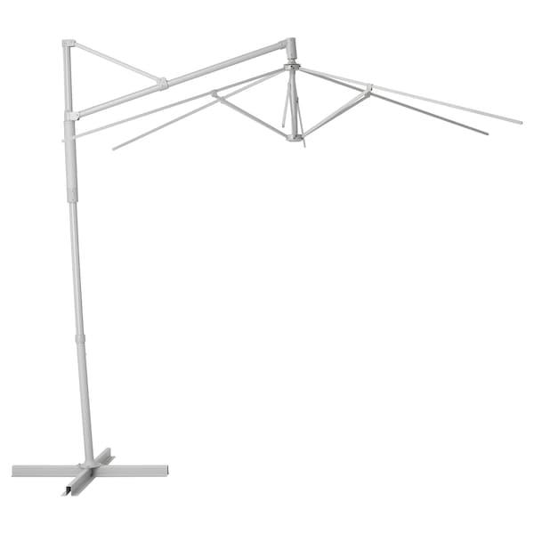 OXNÖ Parasolstel, hænge, grå, 300 cm