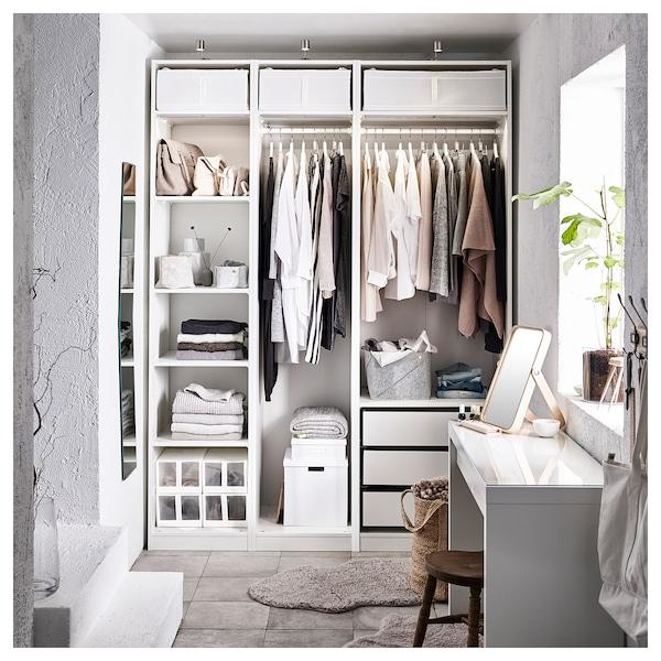 PAX Garderobeskab, hvid, 175x58x236 cm