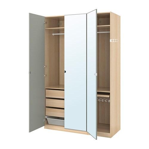 pax garderobeskab 150x60x236 cm ikea. Black Bedroom Furniture Sets. Home Design Ideas