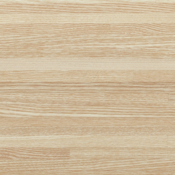 PINNARP Bordplade, ask/finer, 246x3.8 cm
