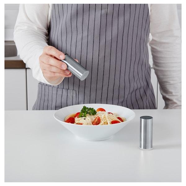 PLATS Salt-/peberbøsse sæt med 2, rustfrit stål