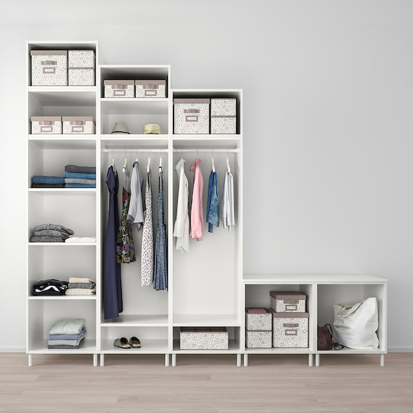 PLATSA garderobeskab med 9 døre hvid Sannidal/hvid 300.0 cm 57.0 cm 271.0 cm