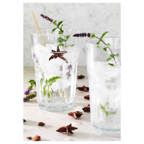 POKAL Glas, klart glas, 35 cl