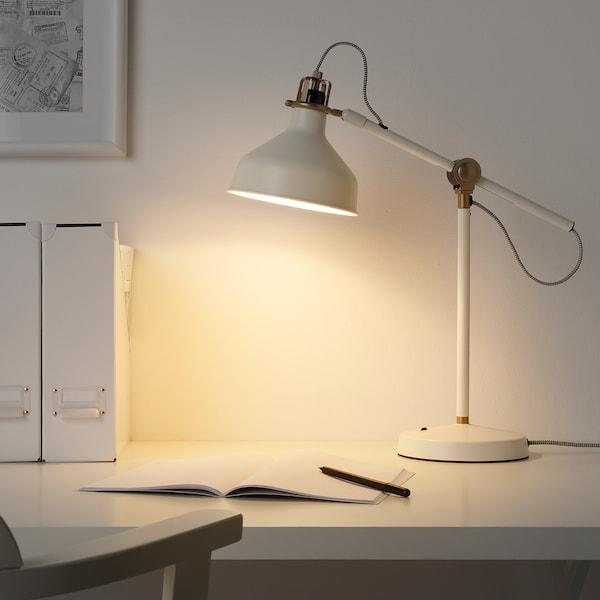 RANARP Skrivebordslampe, råhvid