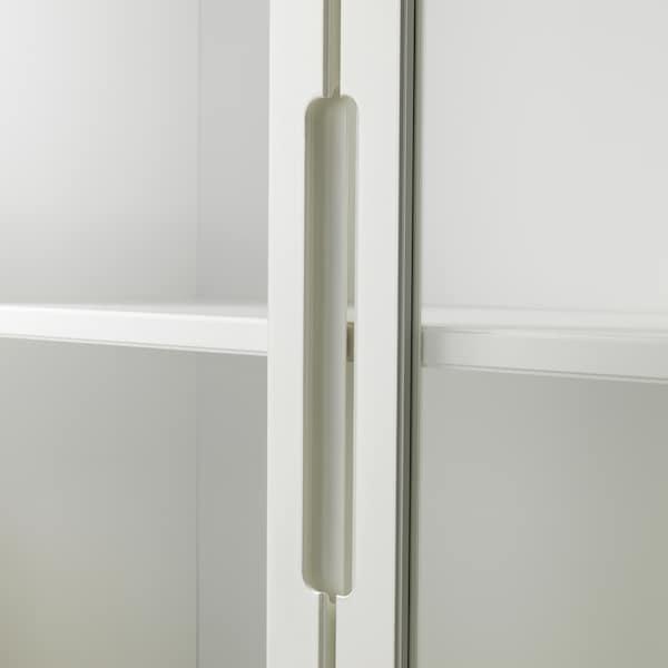 REGISSÖR Vitrineskab, hvid, 118x203 cm