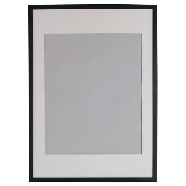 RIBBA Ramme, sort, 70x100 cm