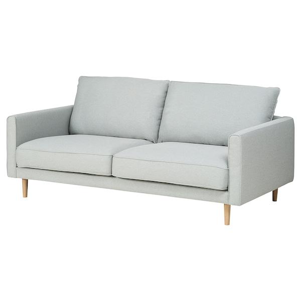 RINGSTORP 2-pers. sofa, lysegrå/natur