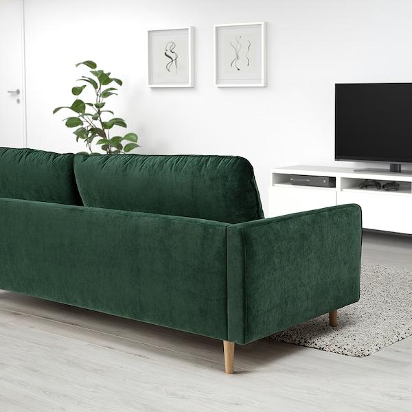 RINGSTORP 2-pers. sofa, mørkegrøn/natur