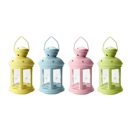 ROTERA Lanterne forskellige farver Højde: 21 cm