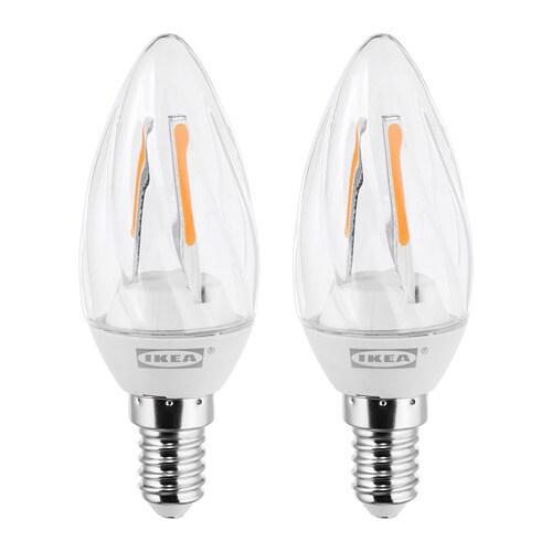 Avanceret RYET LED-pære E14 200 lumen - - - IKEA BI41