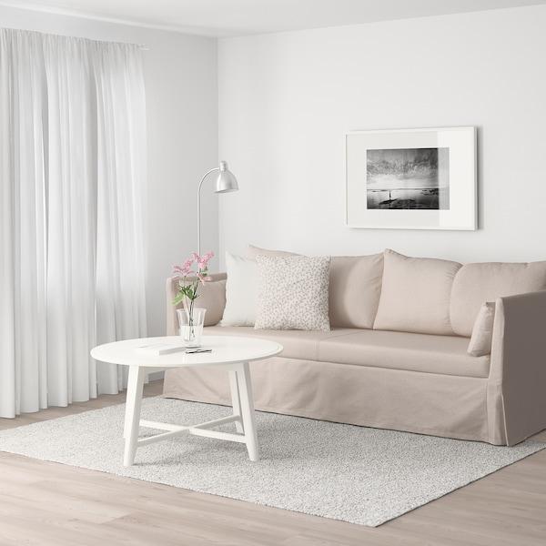 SANDBACKEN 3-pers. sofa, Lofallet beige