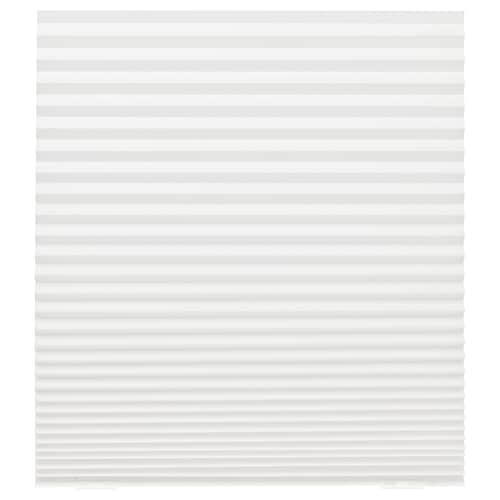 SCHOTTIS plissegardin hvid 190 cm 90 cm 1.71 m²