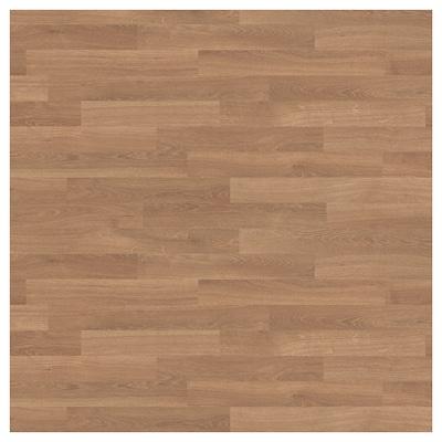 SIBBARP vægplade efter mål egetræsmønstret/laminat 10 cm 300 cm 10 cm 120 cm 1.3 cm 1 m²
