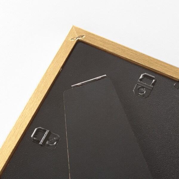 SILVERHÖJDEN Ramme, guldfarvet, 13x18 cm