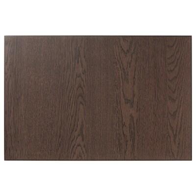 SINARP Skuffefront, brun, 60x40 cm