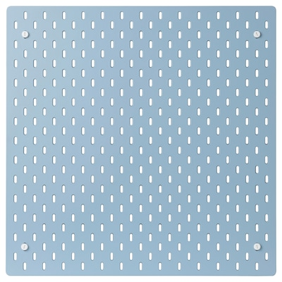 SKÅDIS Hulplade, blå, 56x56 cm