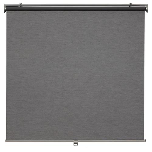 SKOGSKLÖVER rullegardin grå 100 cm 103.4 cm 195 cm 1.95 m²