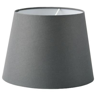 SKOTTORP Lampeskærm, grå, 33 cm