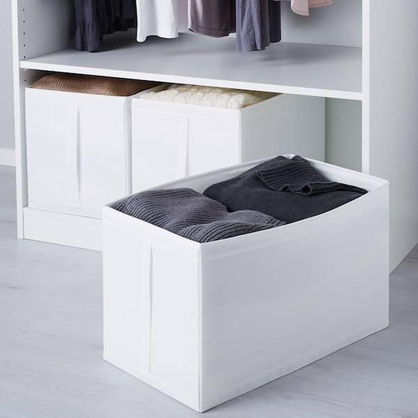 SKUBB Kasse, hvid, 31x55x33 cm