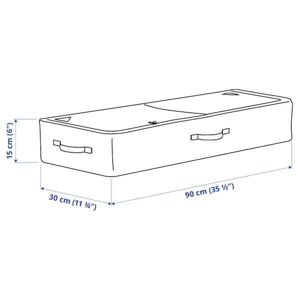 SKUBB Opbevaring til gavepapir, mørkegrå, 90x30x15 cm