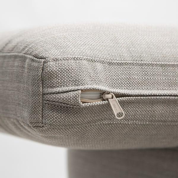 SKULTORP 3-pers. sofa, grå/beige/natur