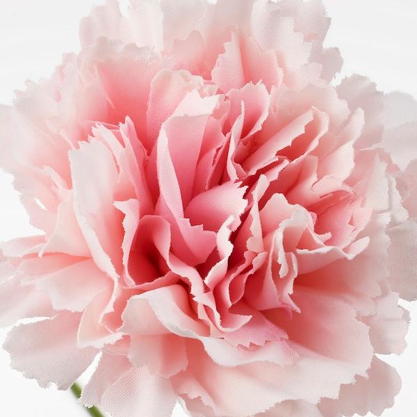SMYCKA Kunstig blomst, nellike/pink, 30 cm
