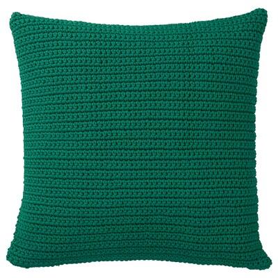 SÖTHOLMEN pudebetræk, indendørs/udendørs mørkegrøn 50 cm 50 cm