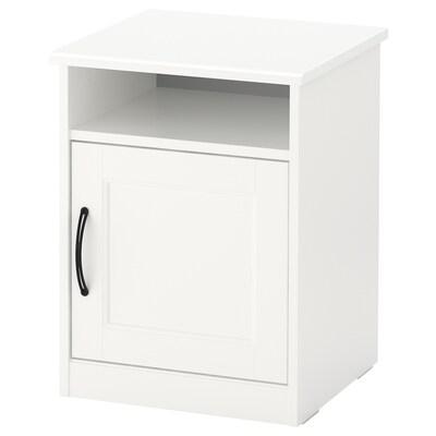 SONGESAND Sengebord, hvid, 42x40 cm
