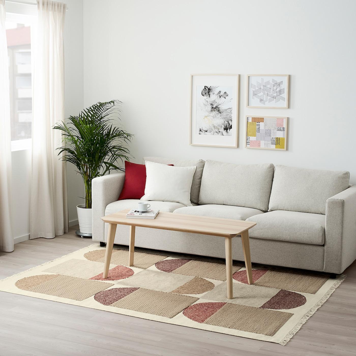 Picture of: Spangsbro Taeppe Fladvaevet Handlavet Multifarvet Ikea