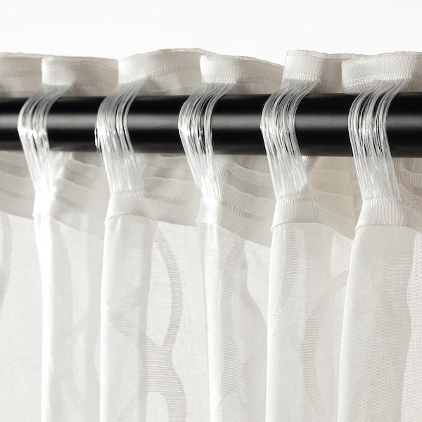 SPARVÖRT tynde gardiner, 2 stk. hvid 250 cm 145 cm 3.63 m² 2 stk