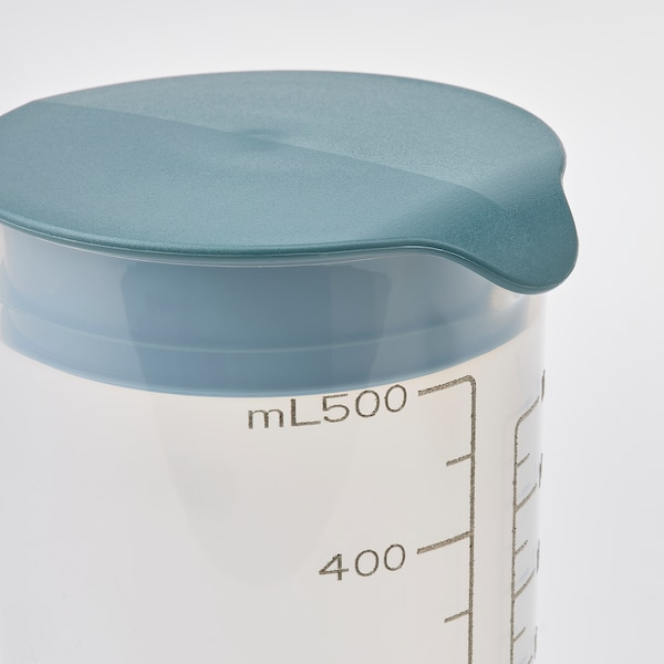 STANDARDMÅTT Shaker, med mål, 500 ml