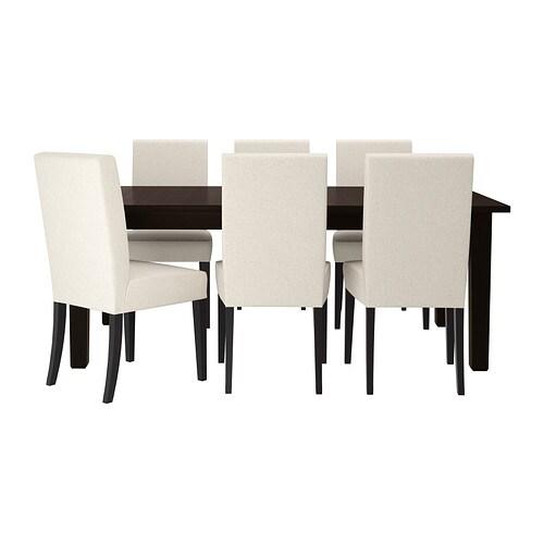 STORN?S / HENRIKSDAL Bord og 6 stole IKEA Det er hurtigt og nemt at ...