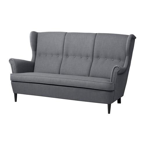 Alle nye STRANDMON 3-pers. sofa - IKEA LR58
