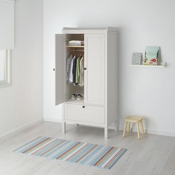 SUNDVIK Garderobeskab, hvid, 80x50x171 cm