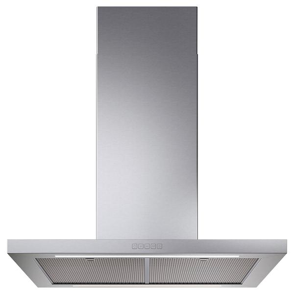 SVÄVANDE Loftmonteret emhætte, rustfrit stål, 90 cm