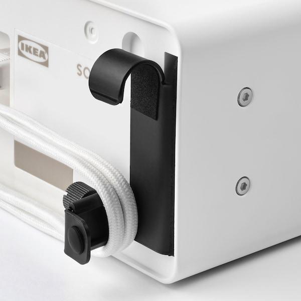 SYMFONISK / SYMFONISK Wi-fi-højttaler med krog, hvid, 31x10x15 cm