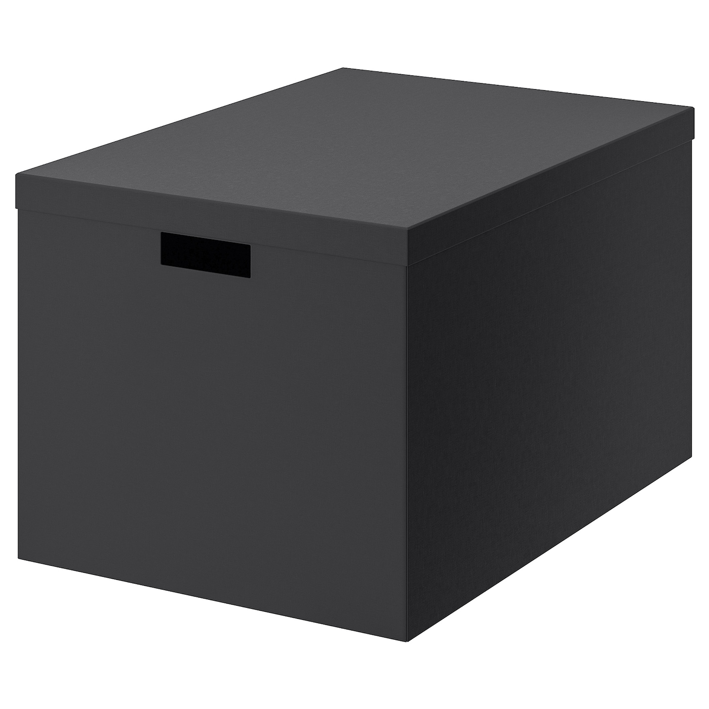Picture of: Tjena Kasse Med Lag Sort 35x50x30 Cm Ikea