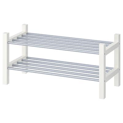 TJUSIG Skohylde, hvid, 79x32x37 cm