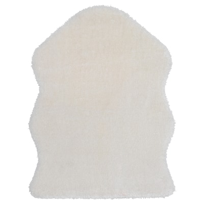 TOFTLUND Tæppe, hvid, 55x85 cm
