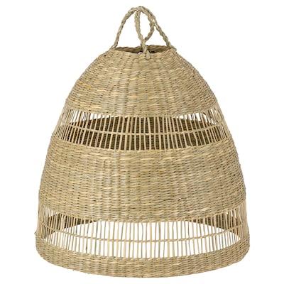TORARED Loftlampeskærm, halvgræs/håndlavet, 36 cm