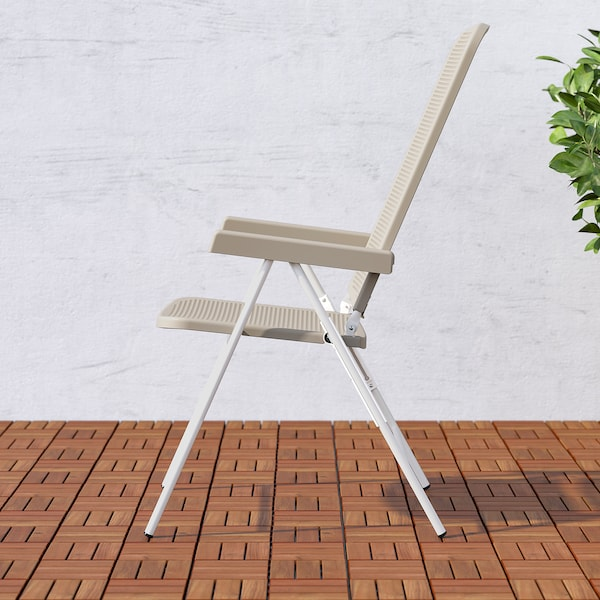 TORPARÖ Hvilestol, ude, hvid/beige