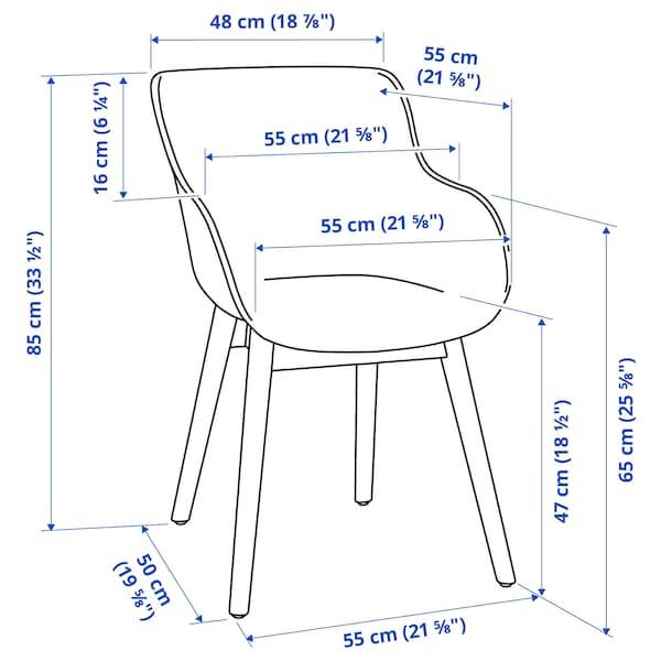 TORVID Stol, indendørs/udendørs hvid/aluminium hvid